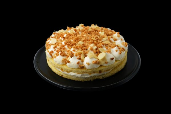 Torta Crema alla Mandorla